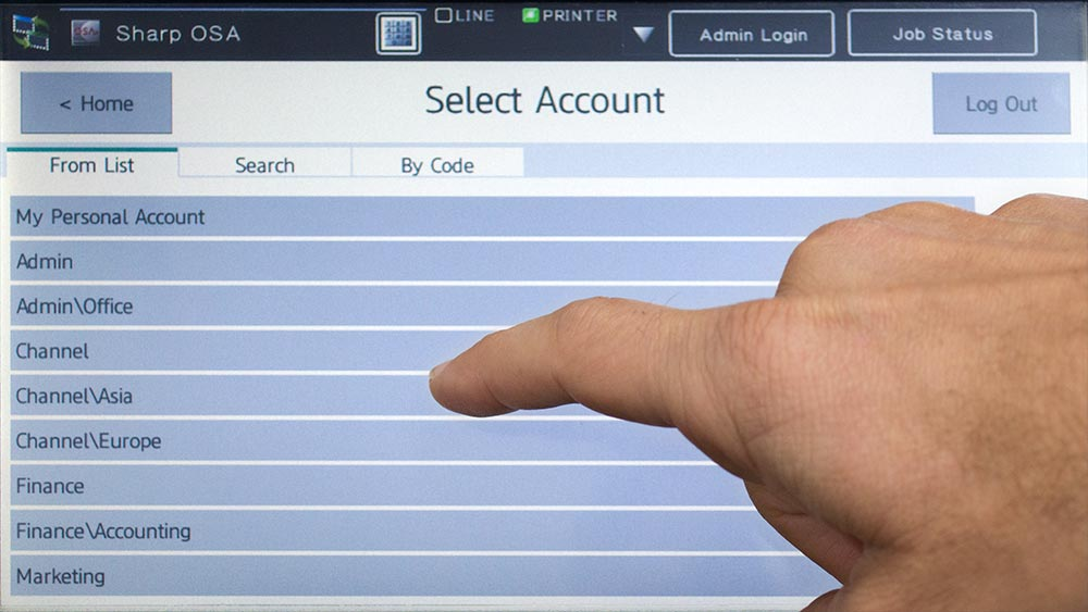 Easily manage large numbers of shared accounts