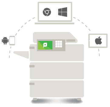 PaperCut MF provides secure mobile and BYOD printing for Ricoh printers and copiers.
