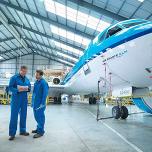 KLM UK Engineering print management customer story