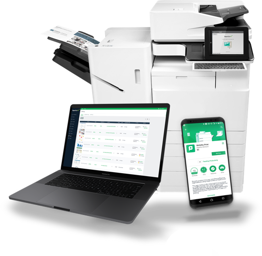 PaperCut enterprise print management solution