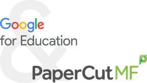 Google for Education and PaperCut